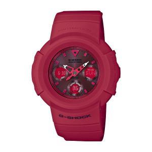 G-SHOCK ジーショック CASIO カシオ 35th Anniversary RED OUT 【国内正規品】 腕時計 AWG-M535C-4AJR 【送料無料】【代引き手数料無料】|tictac