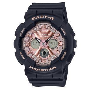 BABY-G カシオ ベイビージー 腕時計 レディス アナデジ BA-130-1A4JF