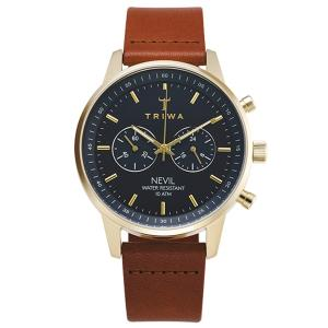 TRIWA トリワ  腕時計  AQUATIC NEVIL BROWN CLASSIC   ネイビー...