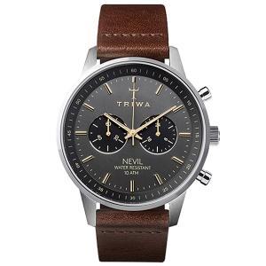 TRIWA トリワ 腕時計 NEVIL SMOKY  DARK BROWN CLASSIC   NE...