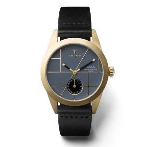 TRIWA トリワ ASKA アスカ BLUES  BLACK  CLASSIC  SUPER SLIM 【国内正規品】 腕時計 AKST105-SS010113 【送料無料】【代引き手数料無料】|tictac