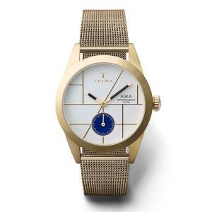 TRIWA トリワ ASKA  アスカ DIXIE GORD  MESH  SIPER  SLIM 【国内正規品】 腕時計 AKST106-MS121313 【送料無料】【代引き手数料無料】|tictac