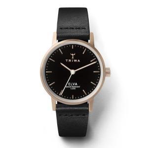 TRIWA トリワ ROSE ELVA BLACK CLASSIC 【国内正規品】 腕時計 レディース ELST102-EL010114 【送料無料】【代引き手数料無料】|tictac