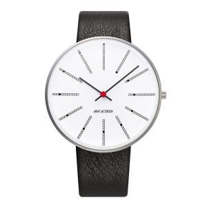 Arne Jacobsen アルネ ヤコブセン Bankers バンカーズ 40mm 【国内正規品】 腕時計 53102-2001 【送料無料】【代引き手数料無料】|tictac