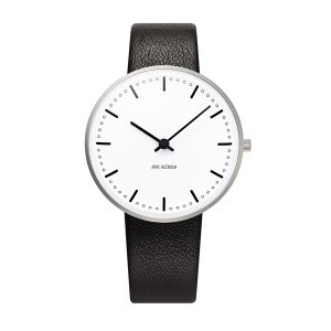 Arne Jacobsen アルネ ヤコブセン City Hall シティホール 34mm 【国内正規品】 腕時計 53201-1601 【送料無料】【代引き手数料無料】|tictac
