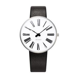 Arne Jacobsen アルネ ヤコブセン ROMAN ローマン 34mm 【国内正規品】 腕時計 53301-1601 【送料無料】【代引き手数料無料】|tictac
