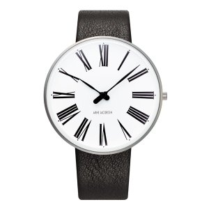 Arne Jacobsen アルネ ヤコブセン ROMAN ローマン 40mm 【国内正規品】 腕時計 53302-2001 【送料無料】【代引き手数料無料】|tictac