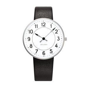 Arne Jacobsen アルネ ヤコブセン Station ステーション 34mm 【国内正規品】 腕時計 53401-1601 【送料無料】【代引き手数料無料】|tictac