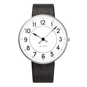Arne Jacobsen アルネ ヤコブセン Station ステーション 40mm 【国内正規品】 腕時計 53402-2001 【送料無料】【代引き手数料無料】|tictac
