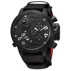 Angel Clover エンジェルクローバー ロエン×エンジェルクローバー(ROEN×Angel Clover)腕時計 コラボレーションウォッチ ブラック BE48ROBK|tictac