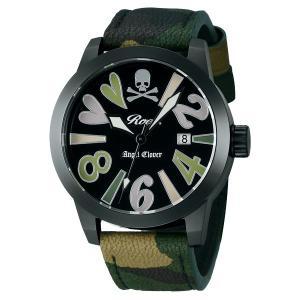 エンジェルクローバー ロエン Roen X Angel Clover コラボモデル SAVANNA COLLECTION サバンナコレクション カモフラ メンズ 腕時計 BE44ROGR-CM|tictac