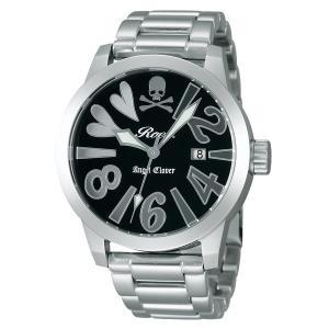 エンジェルクローバー ロエン Roen X Angel Clover コラボモデル SAVANNA COLLECTION サバンナコレクション ブラック メンズ 腕時計 BE44ROGY|tictac