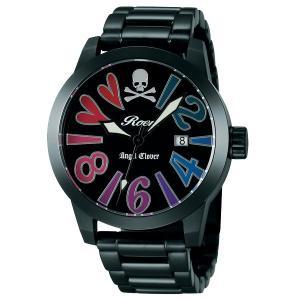 エンジェルクローバー ロエン Roen X Angel Clover コラボモデル SAVANNA COLLECTION サバンナコレクション ブラック マルチ メンズ 腕時計 BE44ROFA|tictac