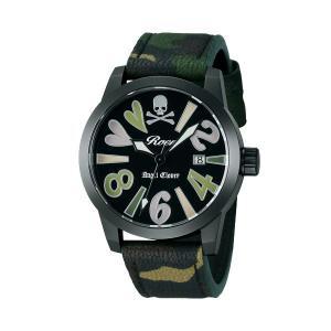 エンジェルクローバー ロエン Roen X Angel Clover コラボモデル SAVANNA COLLECTION サバンナコレクション カモフラ レディース 腕時計 BE39ROGR-CM|tictac