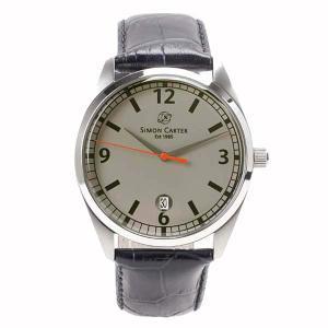 サイモンカーター SIMON CARTER ラウンド 腕時計 メンズ SC-001-GL  【送料無料】【代引き手数料無料】 tictac