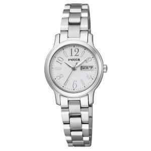 wicca ウィッカ エコドライブ ソーラー CITIZEN シチズン 腕時計 KH3-410-11 【送料無料】【代引き手数料無料】|tictac