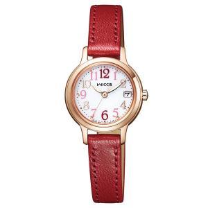wicca ウィッカ ソーラーテック デイト 【国内正規品】 腕時計 レディース KH4-963-10 【送料無料】【代引き手数料無料】|tictac