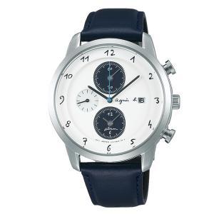agnes b. アニエスベー Marcello ソーラー TiCTACオンライン別注 ペア 【国内正規品】 腕時計 メンズ FBRD709 【送料無料】【代引き手数料無料】|tictac