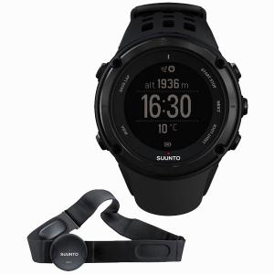 SUUNTO スント AMBIT 2 HR BLACK アンビット 2 HR ブラック 国内正規品 腕時計 SS019562000 【送料無料】【代引き手数料無料】|tictac