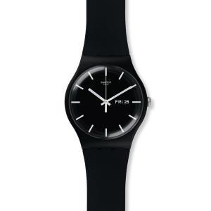SWATCH スウォッチ MONO BLACK 国内正規品 腕時計 SUOB720