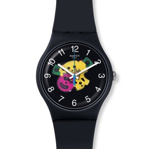 SWATCH スウォッチ COLOR STUDIO カラースタジオ PATCHWORK パッチワーク 【国内正規品】 腕時計 SUOB140 【送料無料】【代引き手数料無料】|tictac
