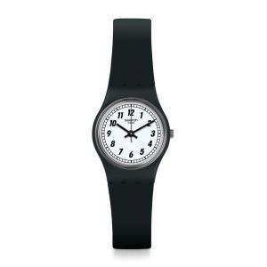 SWATCH スウォッチ Lady レディー SOMETHING BLACK サムシング・ブラック 【国内正規品】 腕時計 LB184 【送料無料】【代引き手数料無料】|tictac