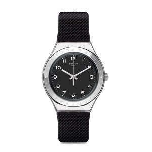 SWATCH スウォッチ Irony Big アイロニービッグ CHARBON シャルボン 【国内正規品】 腕時計 YGS137 【送料無料】【代引き手数料無料】|tictac