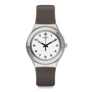 SWATCH スウォッチ Irony Big アイロニービッグ GRISOU グリソー 【国内正規品】 腕時計 YGS138 【送料無料】【代引き手数料無料】|tictac