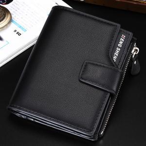 二つ折り 財布 メンズ 大容量 カード 12枚 送料無料 多...