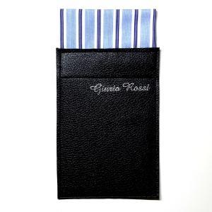 ポケットチーフ スクエア型 台紙付きポケットチーフ ジュリオロッシ ストライプ柄 結婚式 二次会 パーティ フォーマル|tiemarket