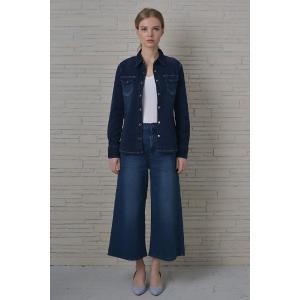 INDIMARK インディマーク カットデニムシャツ インディゴ WT013-3 正規品[小さいサイズ/大きいサイズ/レッドペッパージーンズ/バーゲン/セール/激安/特価]|tifose|04