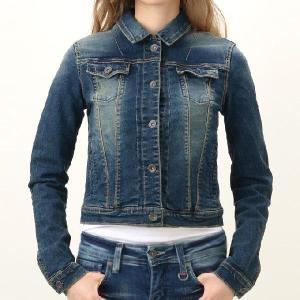 美シルエットストレッチデニムジャケット Gジャン ジージャン インディゴINDIMARK インディマークWT001-1正規品 小さいサイズ 大きいサイズ レディースファッシ|tifose