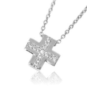 十字架モチーフクロスネックレスメンズ|tifose