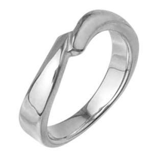 シンプルレディースリング指輪プラチナコーティングメンズ ホワイ|tifose