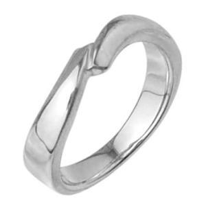 シンプルメンズリング指輪プラチナコーティング|tifose