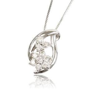 天然ダイヤモンド0.3ct誕生石4月プラチナレディースネックレスペンダント me.luxeエムイーリュックス#95-8015ウィメンズン|tifose