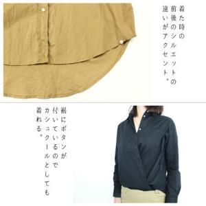 2wayカジュアルシャツ カシュクール/シンプル/シャツ/トップス tifose 04