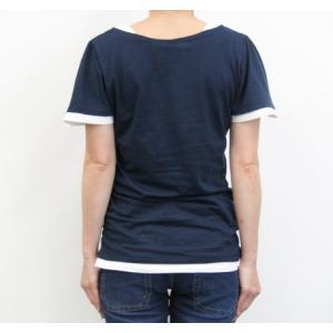 フレアー袖シャーリングカットソー フリル袖/Tシャツ/半袖/トップス|tifose|07