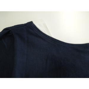フレアー袖シャーリングカットソー フリル袖/Tシャツ/半袖/トップス|tifose|08