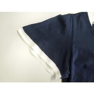 フレアー袖シャーリングカットソー フリル袖/Tシャツ/半袖/トップス|tifose|10