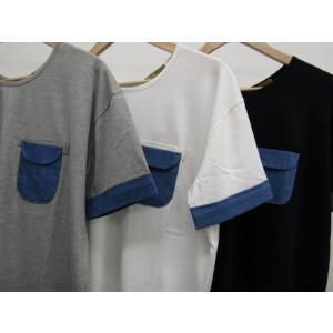 リアルデニムポケットビッグTシャツ ワンピース/トップス|tifose|10