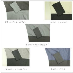 リブ使いドルマンカットソー tシャツ/Tシャツ/長袖/綿/カットソー/トップス|tifose|05