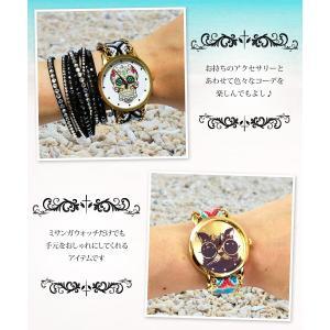 ミサンガウォッチ レディース メンズ 腕時計 夏アクセサリー  即納(メール便可)|tifose|02