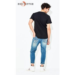 RED PEPPER JEANS レッドペッパージーンズ メンズ クロップドパンツ No.RJ2038|tifose