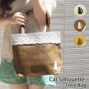 猫ねこネコ刺繍ガーリーレーストートバッグカゴバッグ 春夏秋冬オールシーズンカバン鞄赤可愛いかわいい雑貨小物使い勝手|tifose