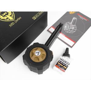 HFC Glock G17 / G18 他 グロックシリーズ GBB 用 145連 ガス ドラムマガジン