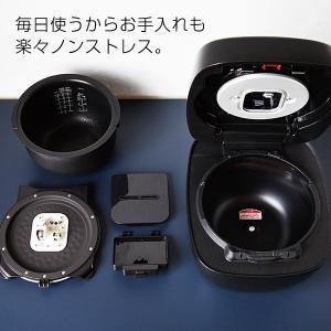 炊飯器 圧力 IH タイガー JPB-H102KU ブラック 5.5合 土鍋 コーティング 圧力 IH 炊飯ジャー 圧力IH炊飯器 5合|tiger-online|07