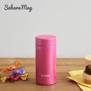 タイガー ステンレスボトル 水筒 MMP-J020PP パウダーピンク サハラマグ 0.2L 軽量 清潔 保温 保冷 丸洗い|tiger-online