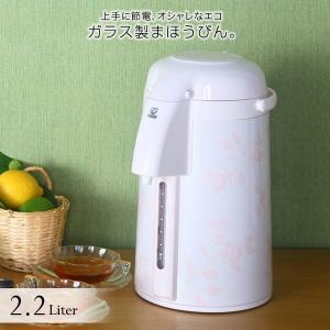 まほうびん エアーポット タイガー 2.2L PNM-G220FP ピンクローズ 日本製 MADE IN JAPAN|tiger-online
