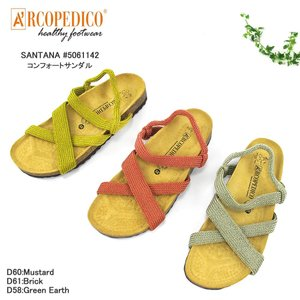 アルコペディコ ARCOPEDICO SANTANA サンタナ 5061142 コンフォートサンダル...